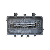 У615 с пластиковыми кабельными вводами PG