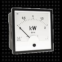 Приборы для измерения мощности, частоты, коэффициента мощности