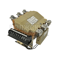 Контактор вакуумный КВ1-400-3В3