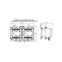 Контактор вакуумный КВ2-250-2В3-ДР