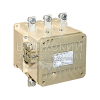 Контактор вакуумный КВ2-400-3В3