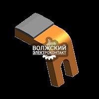 Контакты к контакторам КПП-113 неподвижный нижний ЭТПР.303659.143-01