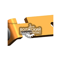 Контакты контроллеров РДК-250 неподвижный L=45 mm, E 63 ЭТПР.303659.073